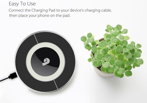 Qi Wireless Charging Dock - Qi Charging Standard, Android and iOS Support, LED I