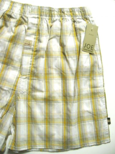 A277 Joseph Abboud Men's JOE Collection Finest Comed Cotton Woven Boxer 4600 NEW