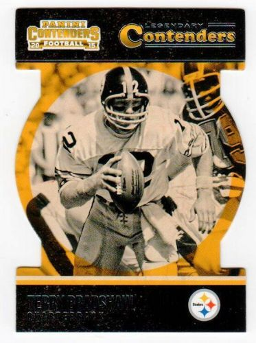 NFL 2015 PANINI CONTENDERS DIECUT TERRY BRADSHAW MNT