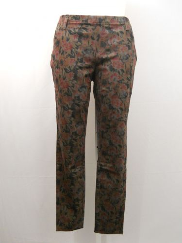 SIZE 20 XXL Womens Knit Jeggings FADED GLORY Floral Print Inseam 30 Mid Rise