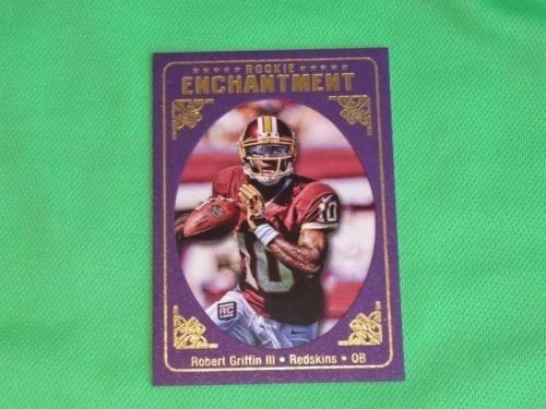 NFL Robert Griffin III Redskins 2012 Topps Rookie Enchantment RC Mnt
