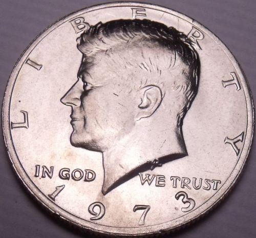 United States Unc 1973-P Kennedy Half Dollar~Free Shipping