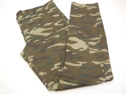 SIZE XL Womens Jeggings NO BOUNDARIES Camouflage Print Back Pockets Inseam 31
