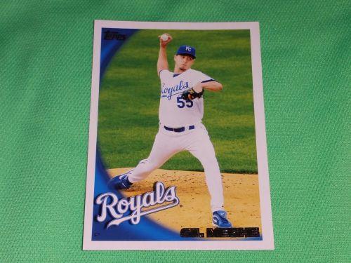 MLB Gil Meche Royals Superstar 2010 TOPPS BASEBALL GD-VG