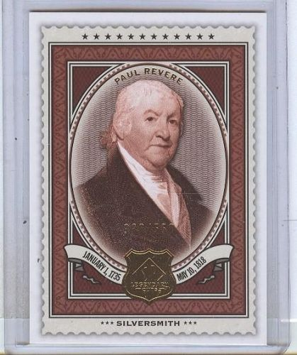 RARE 2009 SP LEGENDARY CUTS #185 PAUL REVERE /550 MNT