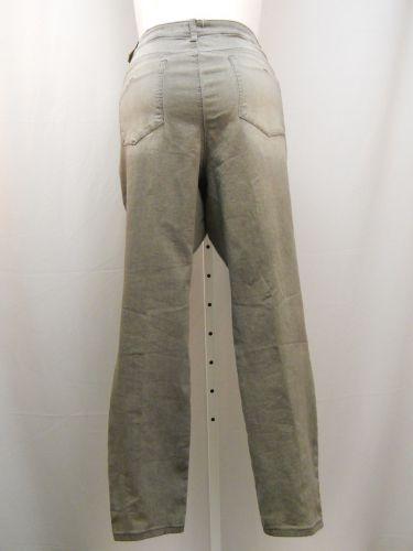 """Royalty Women's Jeans Plus Size 22W Stonewash Grey 5 Pocket Straight Legs 48""""X32"""