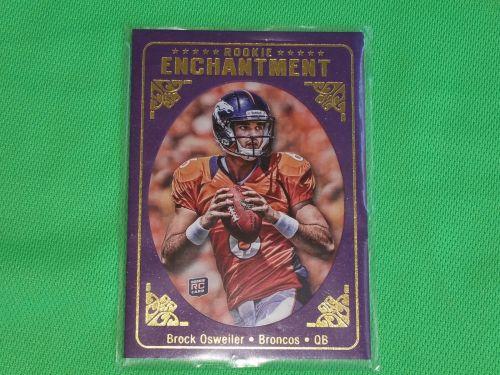 NFL Brock Osweiler Denver Broncos 2012 Topps Rookie Enchantment RC Mnt