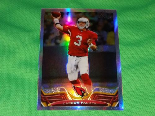 NFL Carson Palmer Arizona Cardinals 2013 Topps Chrome Refractor Mnt