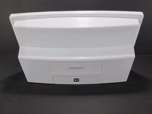 NO POWER CORD - BOSE white SOUND DOCK 1 ONE Digital Music System speaker iPOD