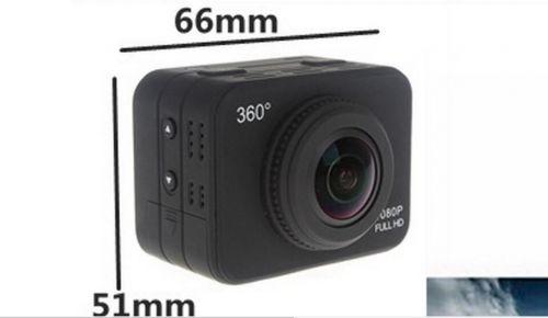 X360 VR Mode 360 Degrees Panoramic Cam Camera Wifi Moto Cross Helmet Video DVR