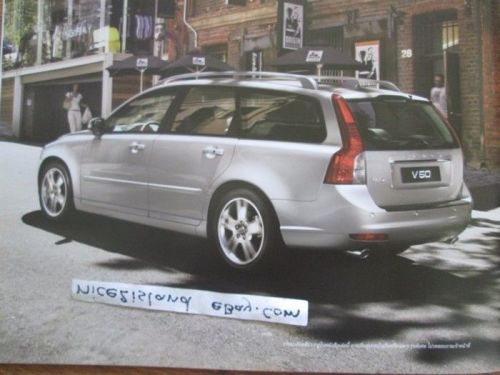Volvo S40 V50 Car Photo Brochure Accessories Catalog Book Eng Thai Text 24 pages