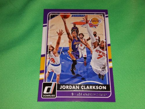 NBA JORDAN CLARKSON LAKERS SUPERSTAR 2015 PANINI BASKETBALL GEM MNT