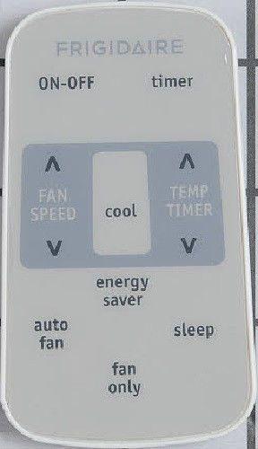 FRIGIDAIRE remote control RG15E window room air conditioner AC fan 5304476866