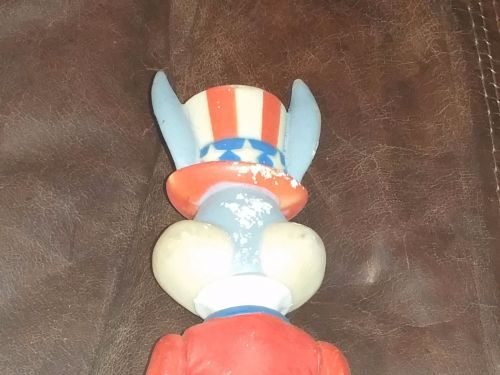 Vintage authentic Warner Brothers Bugs Bunny Patriotic 6 inch PVC Figurine