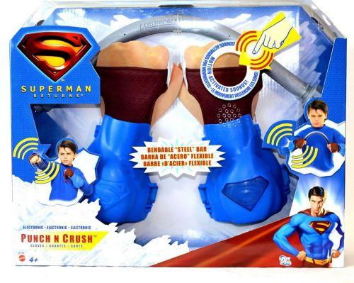 Superman Returns Punch N Crush Electronic Gloves