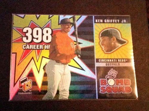 MLB KEN GRIFFEY JR 2000 UPPER DECK BOMB SQUAD INSERT #BS1 GD-VG
