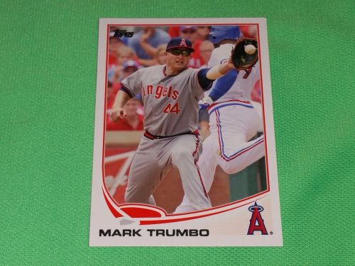 MLB Mark Trumbo Angels 2013 Topps Baseball GD-VG