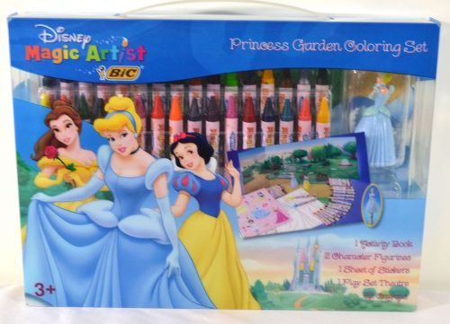 Disney Princess Garden Coloring Set