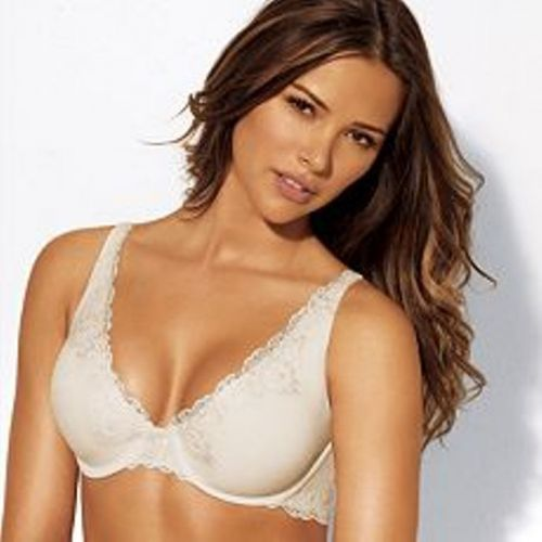 SB0030 Lilyette NEW Full Support Lace Wire with Sew Free Wings Bra 966 Pearl PR