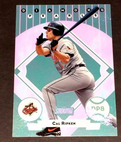 MLB CAL RIPKEN 2000 TOPPS DIAMOND PEARLS INSERT GD-VG