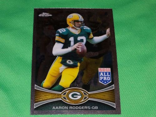 NFL Aaron Rodgers Packers 2012 Topps Chrome All Pro insert Mnt