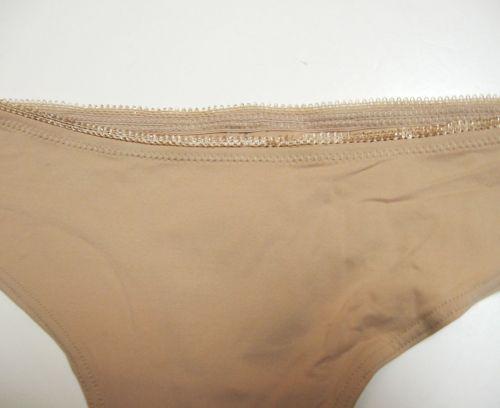 A0506 Le Mystère NEW 7459 Nude No.9 Lolita Tagless Keyhole Stretch Tactel Tanga