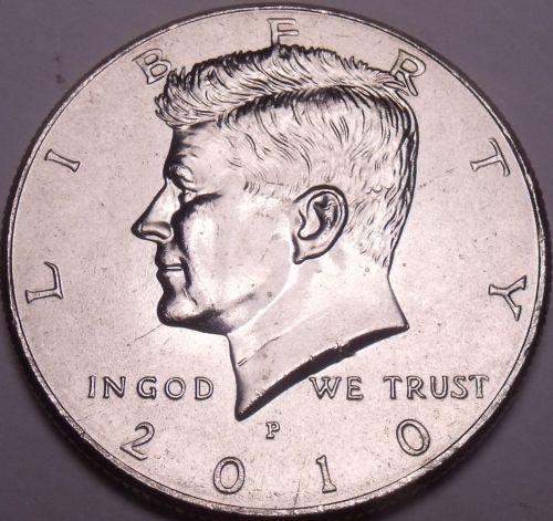 United States Unc 2010-P Kennedy Half Dollar~Free Shipping