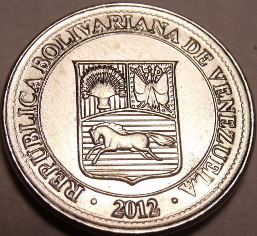 Gem Unc Venezuela 2012 50 Centimos~We Have Gem Unc Coins From South America~F/S