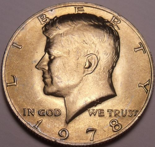 United States Unc 1978-P Kennedy Half Dollar~Free Shipping