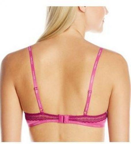 SB0040 Calvin Klein NEW QF3264X QF3264Y Bare Lace Signature Soft Cups UW Bra PR