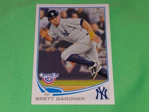 MLB Brett Gardner Yankees 2014 Topps Opening Day Baseball GD-VG