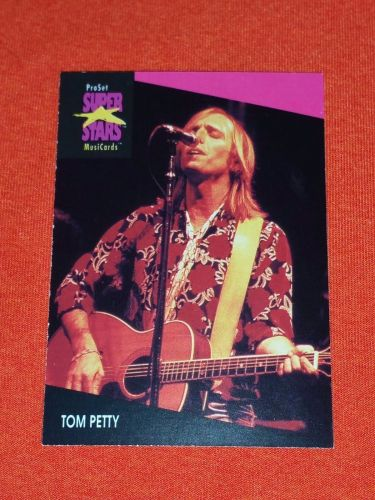 RETRO TOM PETTY 1992 PROSET ROCK & ROLL COLLECTORS CARD #217 MNT