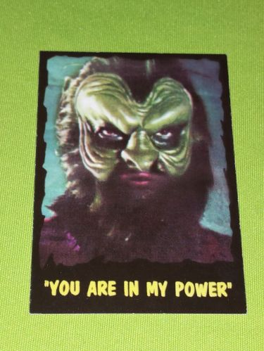 VINTAGE THE OUTER LIMITS SCI-FI SERIES 1997 MGM COLLECTORS CARD #76 NMNT