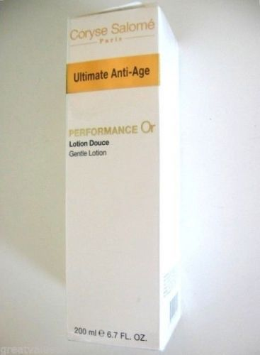 S0173 Coryse Salome Ultimate Anti-Age Performance Or Gentle Lotion 200ml France