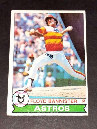 MLB FLOYD BANNIISTER ASTROS 1977 TOPPS #306 GD-VG