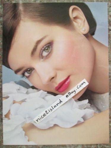MONIKA JAGACIAK Super Model CHANEL Print Ad Lot 4 Posters 8 x 11 in Waterproof