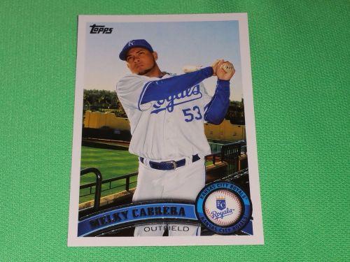 MLB Melky Cabrera Kansas City Royals 2011 Topps Baseball GD-VG