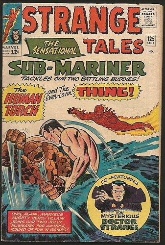 Strange Tales #125 DR. STRANGE Marvel Comics 1964 1st Print Sub-Mariner, Thing+