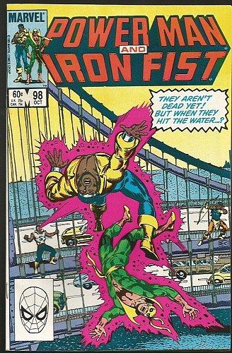 Power Man and Iron Fist #98 Marvel Comics 1983 CHAN VF range