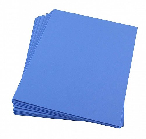 Craft Foam Sheets--9 x 12 Inches - Royal Blue - 10 Sheets-2 MM Thick