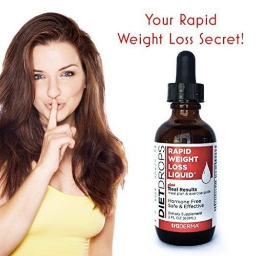 truDERMA Diet Drops | Rapid Weight Loss Liquid | Lose 1 Pound a Day - Includes |
