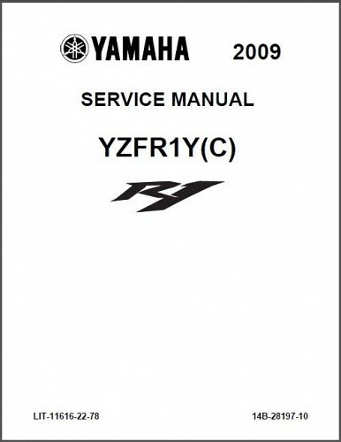 2007-2014 Yamaha YZF-R1 Service Repair Workshop Manual CD -- YZFR1 R1