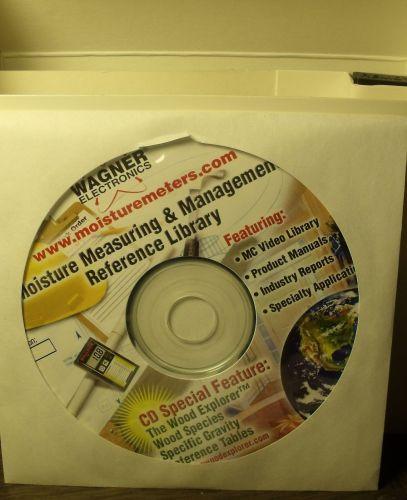 Wagner MMC205 Digital Shopline Moisture Meter NEW~Case~Instructional CD~Special
