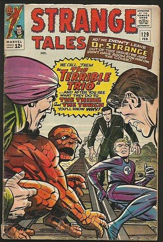 Strange Tales #129 DR. STRANGE Marvel Comics STEVE DITKO 1965 Thing & Torch
