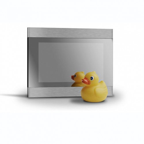 TV MAGIC MIRROR- LUXURY WATERPROOF TELEVISION AND A MIRROR!