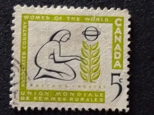 Canada Used 1v Stamp 1959 Associated Country Women of the World