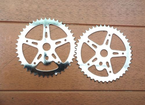 NOS 44t Chainring for 1 Plece crank sprocket Old school BMX Haro GT