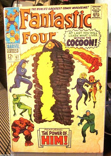 Fantastic Four #67 KEY 1st Warlock Jack Kirby 1967 GUARDIANS OF THE GALAXY