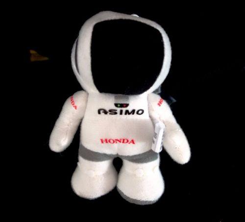 ASIMO Honda Japan 4''Robot Plush Doll Suction Cup on glass