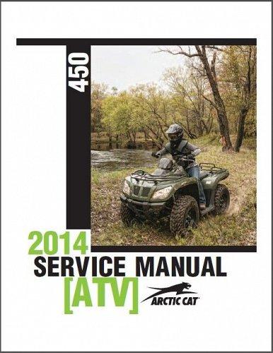 2010 2013 2014 2015 Arctic Cat 450 ATV Service Repair Workshop Manual CD